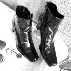 Etienne Aigner Women's Black Ankle Boots